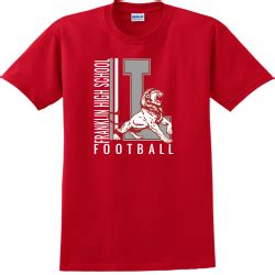 Football T Shirt Designs Designs For Custom Football T Shirts On Time Delivery High School T Shirt Design Templates