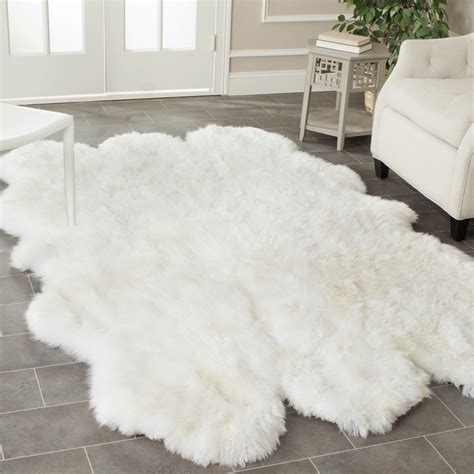 how to make a faux fur rug faux fur rug ikea rugs ideas