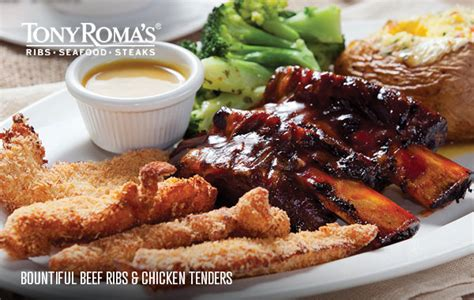Tony Romas Carolina Honeys Bbq Saucebarbecue Sauce menu tony roma s ribs seafood steaks