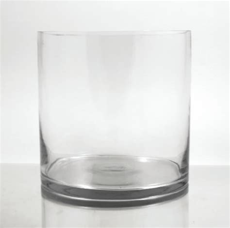 10 Glass Cylinder Vase by Glass Cylinder Vase 10 Quot X 9 Quot