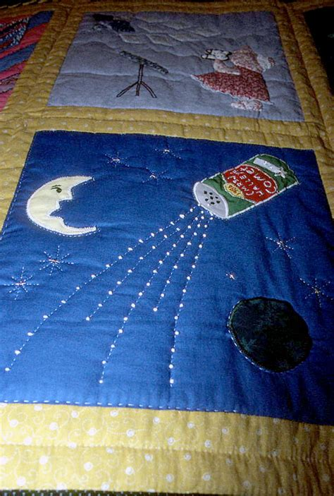 Palm Quilt Show by Florida Memory Up View Of S Comet Square On
