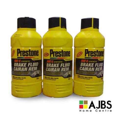 Prestone Brake Fluid 1000ml Minyak Rem brake fluid dot4 300ml prestone shop ajbs
