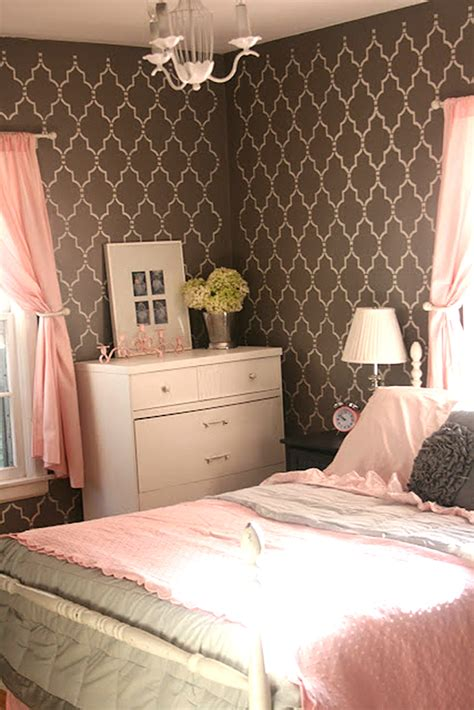 diy bedroom diy bedroom ideas with cutting edge stencils stencil