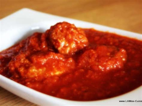 sauce tomate cuisin馥 recettes de sauce tomate de lilimax cuisine