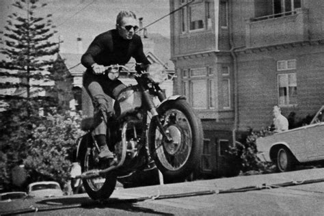 Triumph Motorrad Landau by Steve Mcqueen Motorcycle Jump Mcqueen Liked To Hit The
