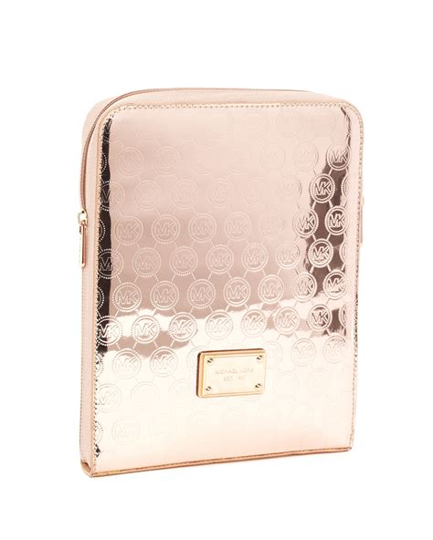 michael michael kors gold monogram accessories trends