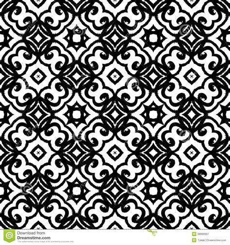 pattern artist black and white vector geometric art deco pattern stock vector