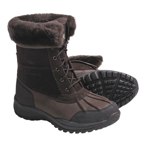 winter boots for bearpaw stowe winter boots leather for save 50