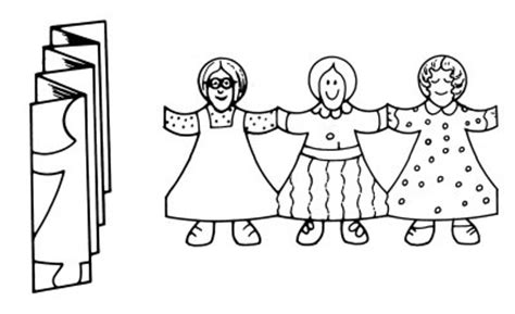 How To Make Paper Dolls Holding - gospel learning on your lapbooking lds homeschooling
