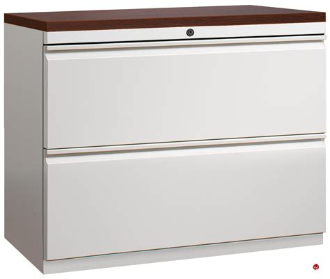 The Office Leader. 2 Drawer Trace Lateral File Cabinet, 42
