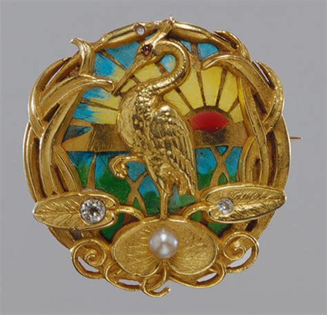 Bros Bross Brooch tips for iidentifying nouveau and deco jewelry