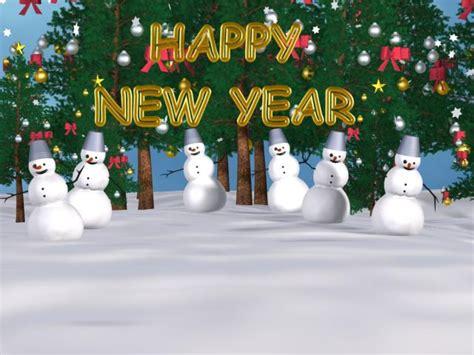 snowman  year screensaver   snowman
