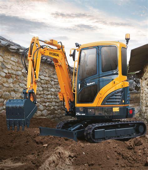 hyundai excavator specs hyundai excavators 2015 spec guide compact equipment