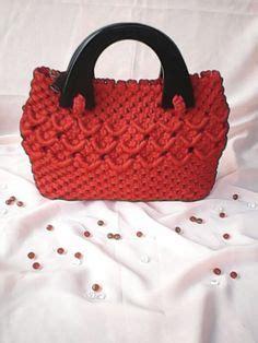 Tas Tangan Tali Kurhand Bag 1 macrame bag macrame and bags on