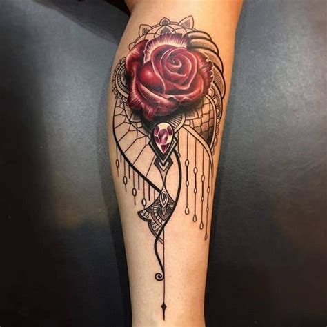 female rose tattoo designs 135 beautiful designs for and
