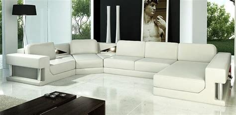 tosh furniture white modern top tosh furniture dante modern leather sectional sofa tos vt s945