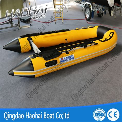 inflatable boats made in new zealand 3 6m pvc folding inflatable boat with aluminum floor buy