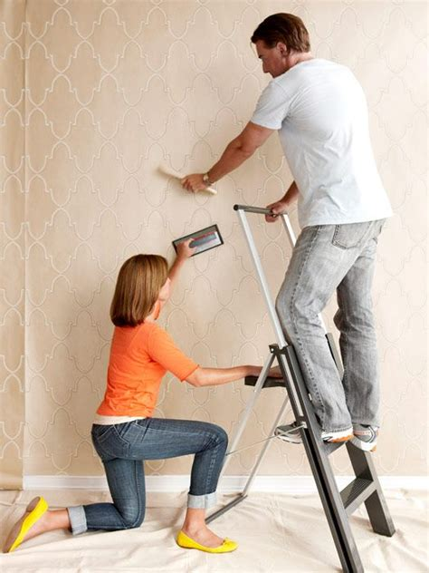 easy apply wallpaper 10 ideas about hanging wallpaper on pinterest how to