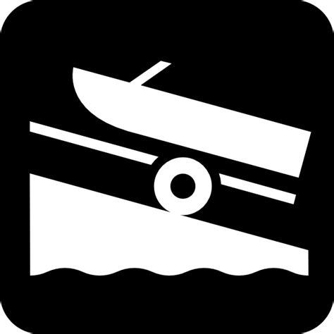 boat trailer clipart map symbols boat trailer clip art at clker vector