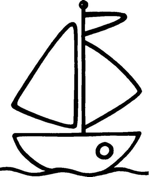 dibujo barco velero para colorear velero dibujalia dibujos para colorear elementos y