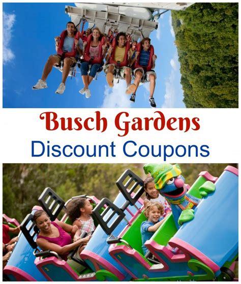 Busch Garden Coupons by Busch Gardens Discount Coupons Busch Gardens Williamsburg Discount Tickets Savings