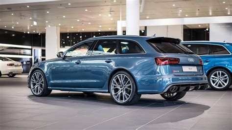 Audi Exklusiv by Polar Blue Metallic Rs6 Avant By Audi Exclusive Looks Cool