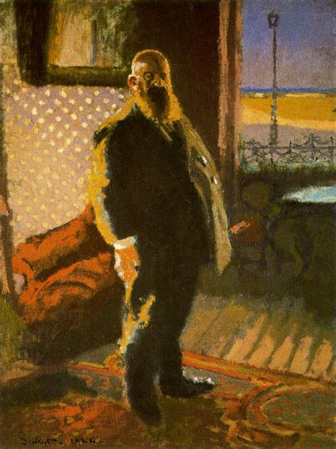 art contrarian   beginning walter sickert