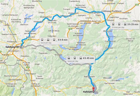 hallstatt austria hallstatt austria map