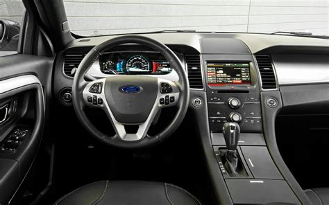 2013 Ford Taurus Limited Interior by 2013 Ford Taurus Sel V 6 Test Motor Trend