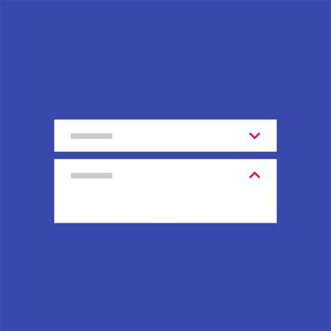 material design icon expand expansion panels components material design guidelines