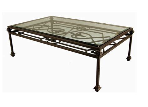 coffee table image of glass and metal coffee table glass