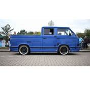 VW T3 Double Cab Flatbed RS
