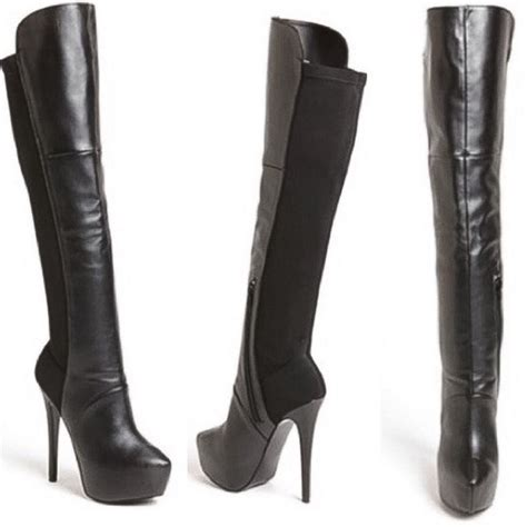 steve madden shoes the knee stilletto boots poshmark