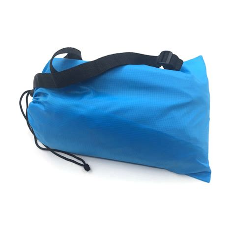 fast inflatable air sleeping bag cing bed beach hangout