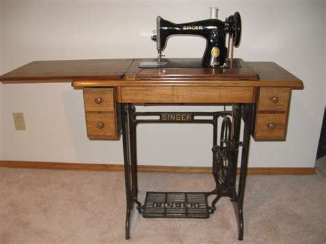 Sewing Machine Cabinet Singer by Vintage Singer Treadle Sewing Machine Cabinet Moose Jaw