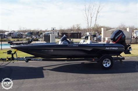 used nitro bass boats in texas 2004 used nitro 18 bass boat for sale 16 500 aubrey