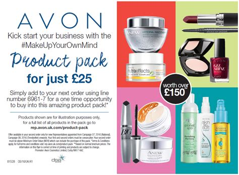 Make Up Kit Just Mist Es288 make up your own mind avon favourite kit
