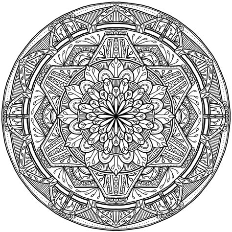 Krita Circles Mandala 7 By Welshpixie On Deviantart Mandala Circles Coloring Pages