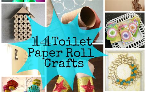 Tissue Paper Roll Crafts - 14 toilet paper roll crafts