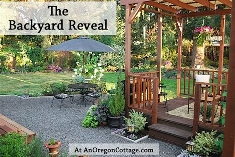 how to win a backyard makeover the backyard makeover reveal an oregon cottage