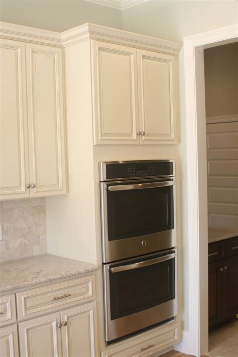 oven kitchen cabinet prep your utility cabinet for wall oven