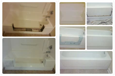 cut bathtub into shower superior resurfacing bath tub and counter top repair refinishing and restoration