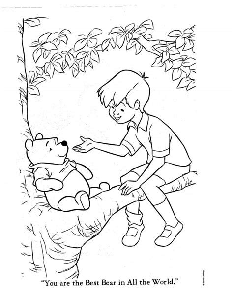 coloring pages of christopher robin free coloring pages of hunny pot