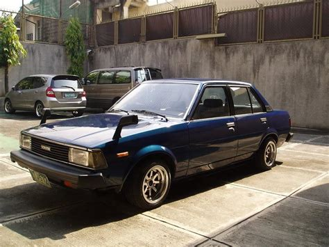 Toyota Corola 1982 1982 Toyota Corolla Specs