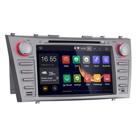 Android 44 System Car Unit Dvd For Toyota Corolla Camry Fortuner android 4 4 car dvd player gps stereo navigation for 2007