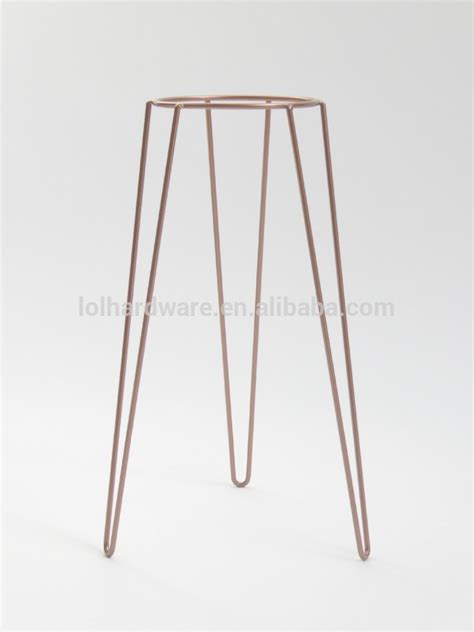 copper metal wire plant stand mid century inspired buy