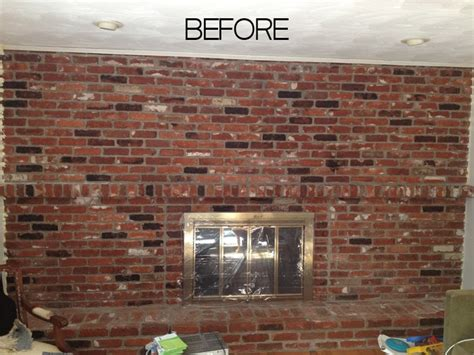 TUTORIAL: How to Paint a Brick Fireplace
