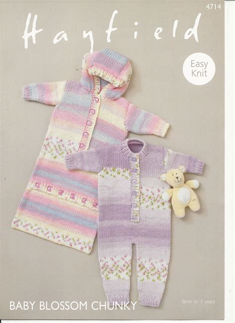 hayfield knitting patterns for babies hayfield s all in one sleeping bag in baby blossom