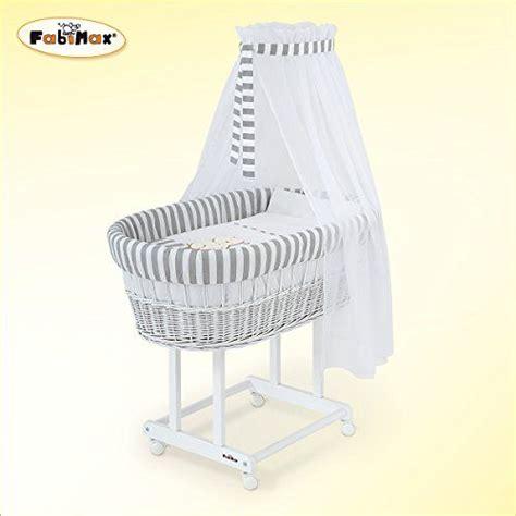 culle fabimax fabimax in vimini laccato bianco materasso classic