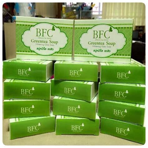 Bfc Green Tea Soap Whitening Gluta Soap Diskon